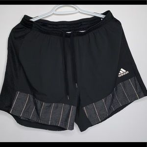 Adidas Men's Supernova Reflective Running Shorts